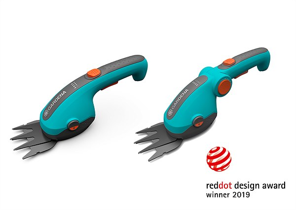 Red Dot Design Award 2019: Battery Grass and Shrub Shears ClassicCut Li and  ComfortCut Li