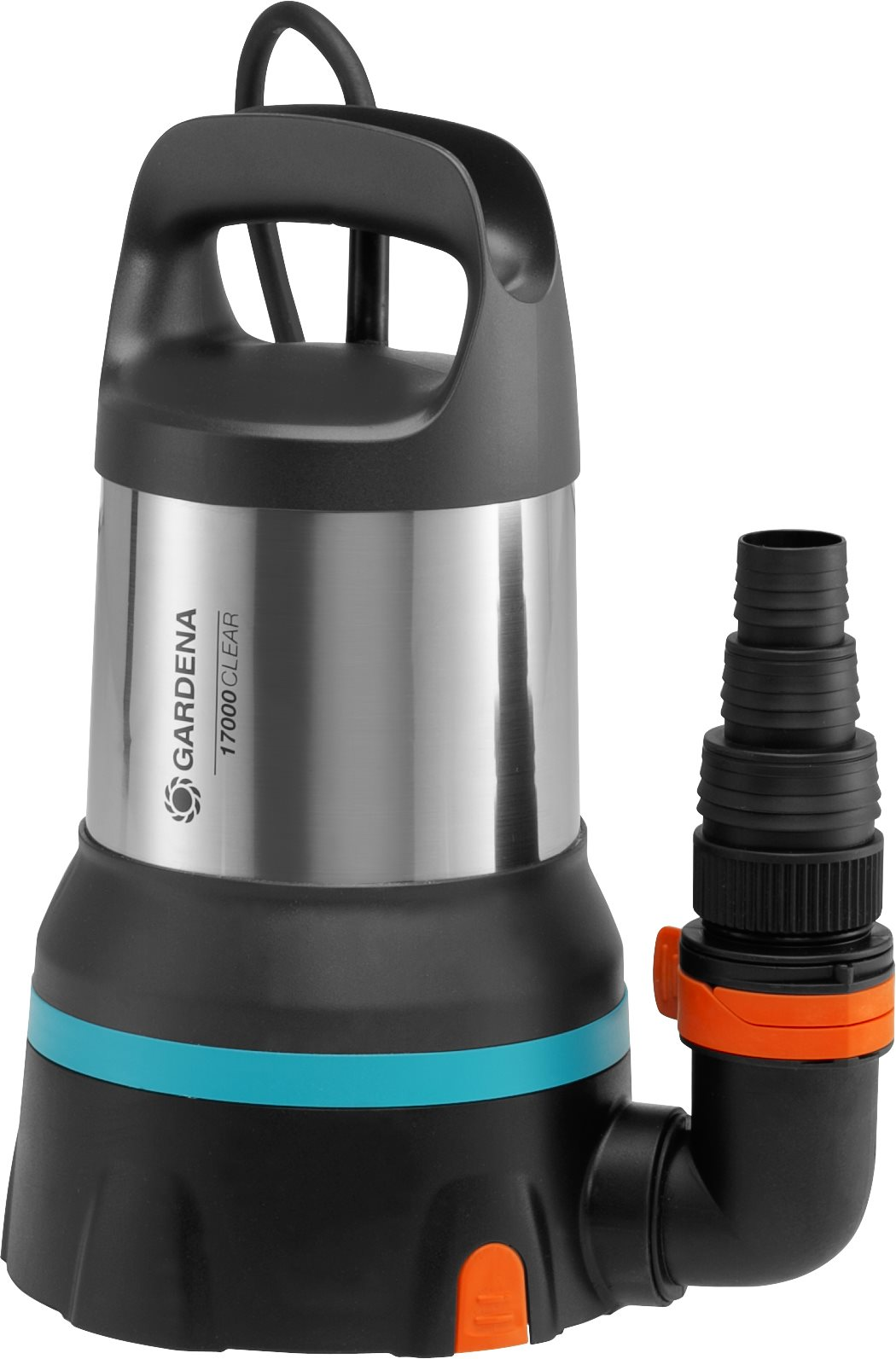 GARDENA Clear Water Submersible Pump 17000 Aquasensor