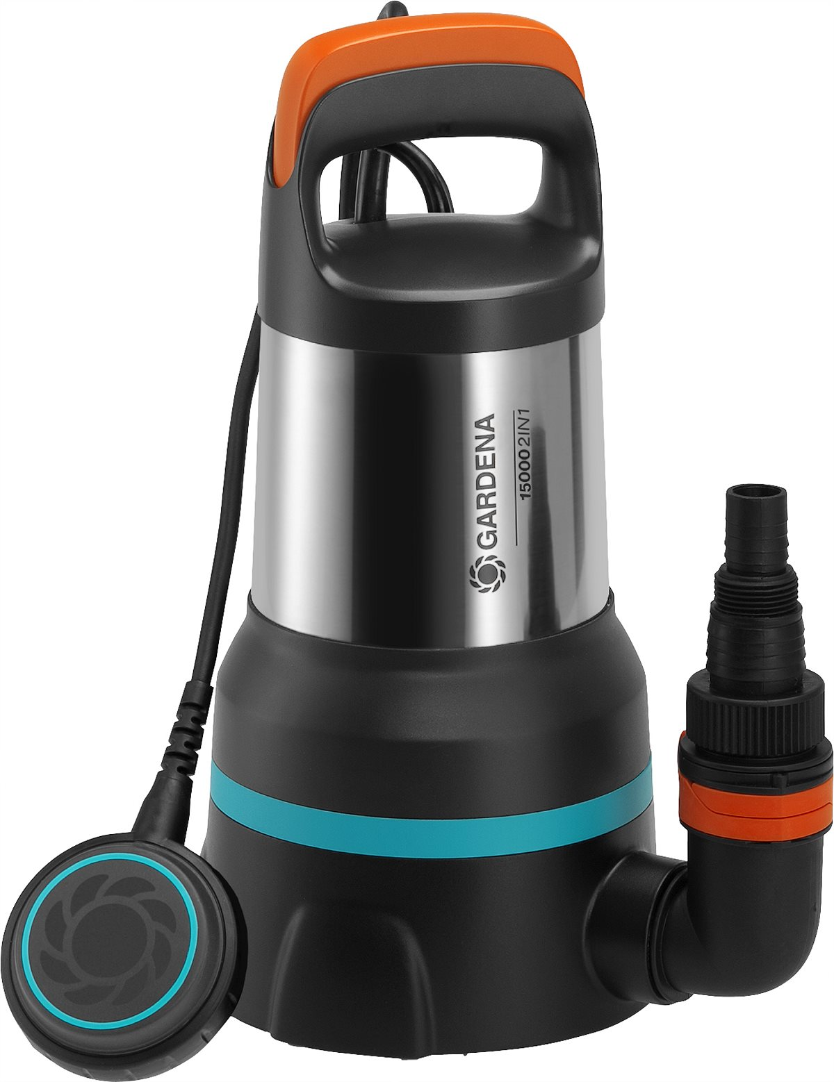 GARDENA 2in1 ClearDirty Water Submersible Pump 15000
