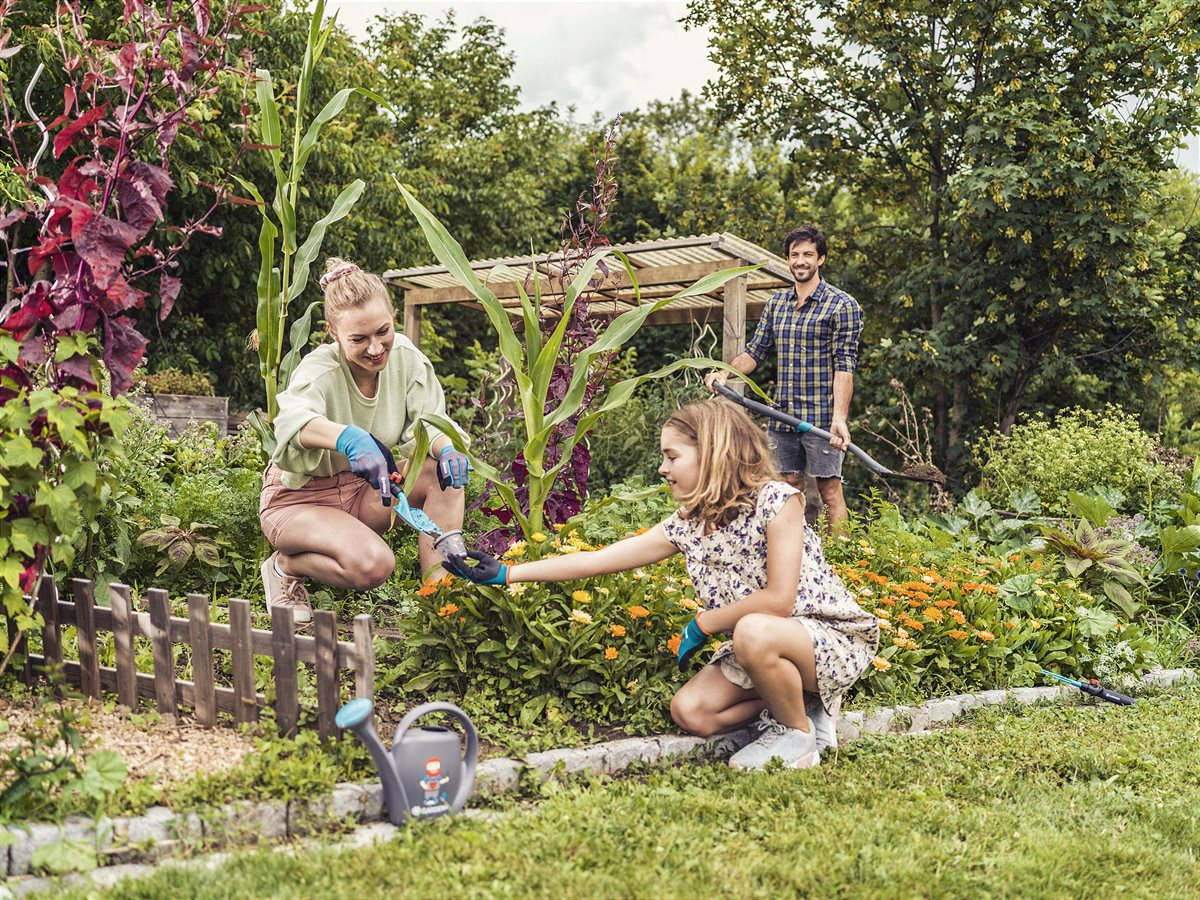 Garden fun for the whole family